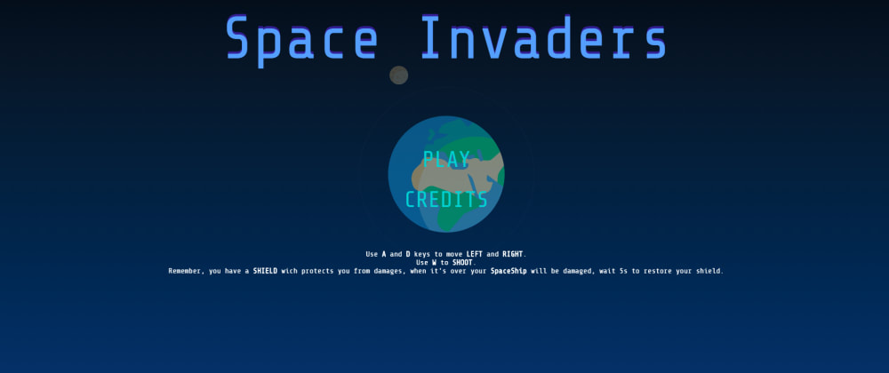 Cover image for [UPDATE] SpaceInvadersJS - Demo live now!