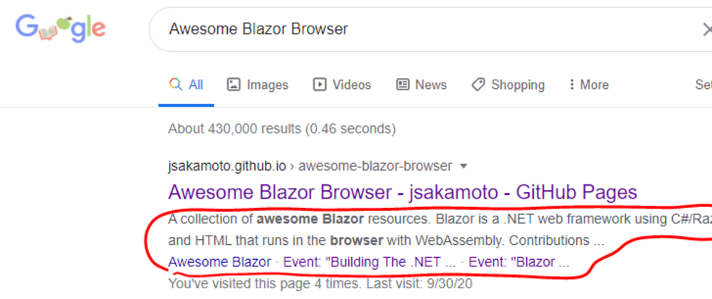 Cover image for Render a Blazor component to HTML string for Blazor WebAssembly app's search engine optimization that is hosted on GitHub Pages