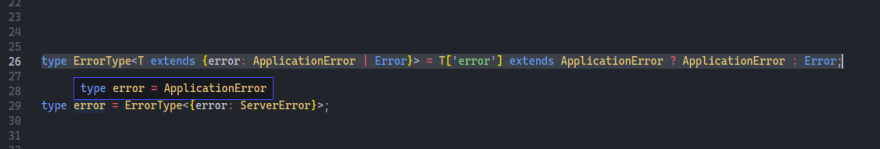 server error example screenshot