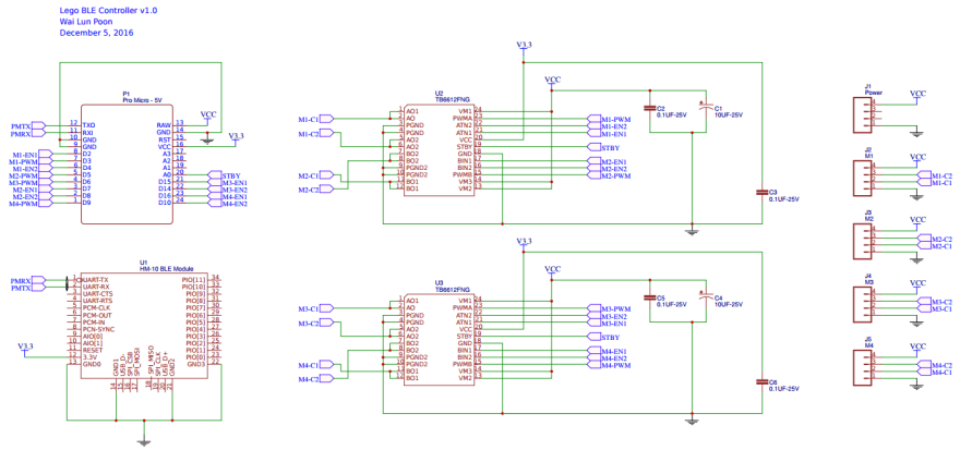 I used EasyEDA for this design (an online editor), but my favourite is KiCad :)