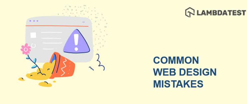 Cover image for 12 Common Web Design Mistakes To Avoid in 2021