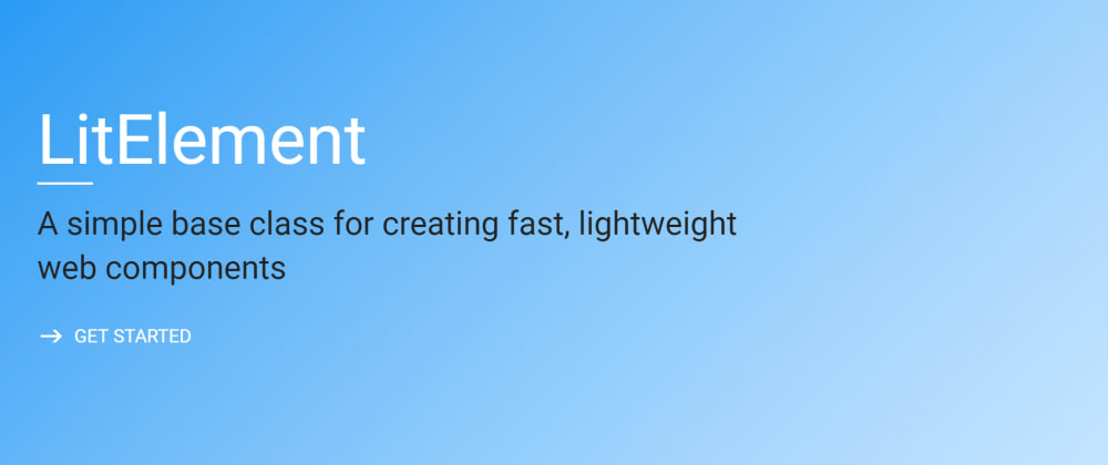 Cover image for LitElement: using web components
