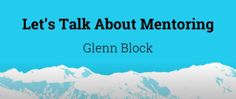 Cover image for #30DaysOfCJS: Let's Talk About Mentoring