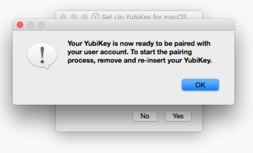 Yubikey for Mac Unlock - 5