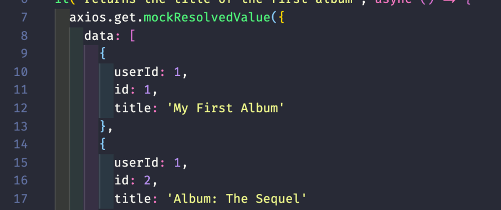 Cover image for The only 3 steps you need to mock an API call inJest