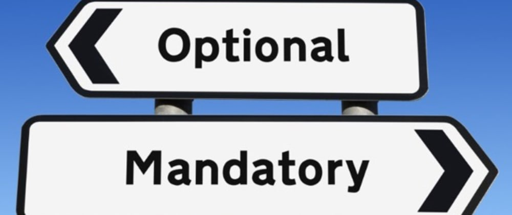 Cover image for Optional Is the New Mandatory
