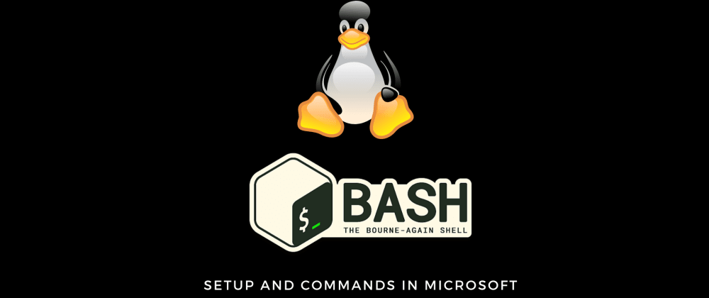 Cover image for Install Ubuntu on Ms Windows 10 + Bash Terminal Commands