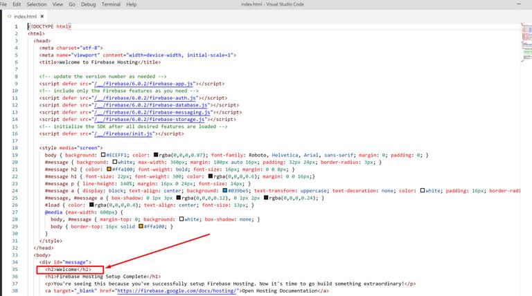 Edit index files<br>