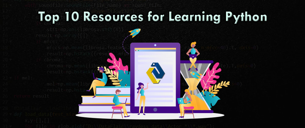 Cover image for Your search for Best Python Resources ends here!!