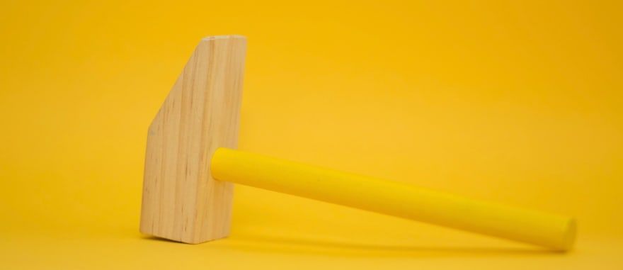 A toy hammer