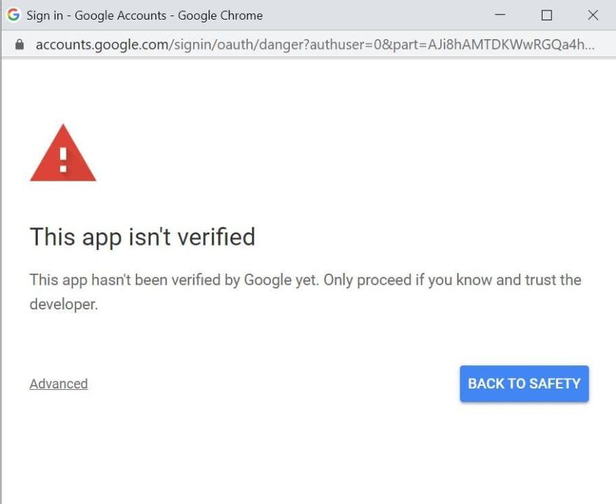 app-not-verified