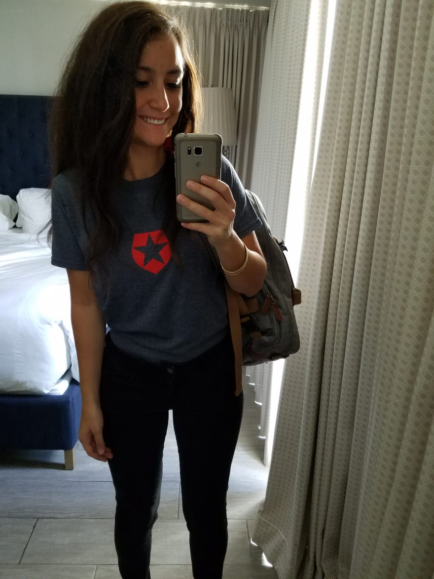 Photo of Kapehe in Auth0 shirt