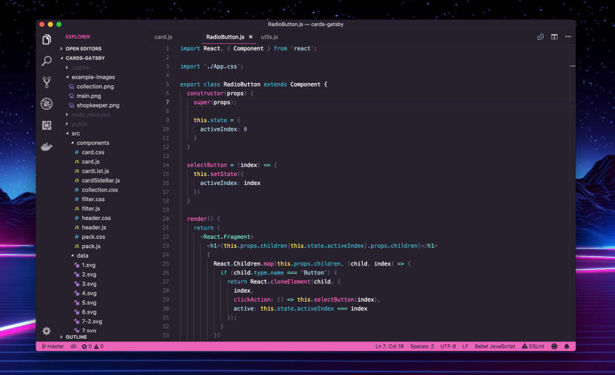 LaserWave for VS Code