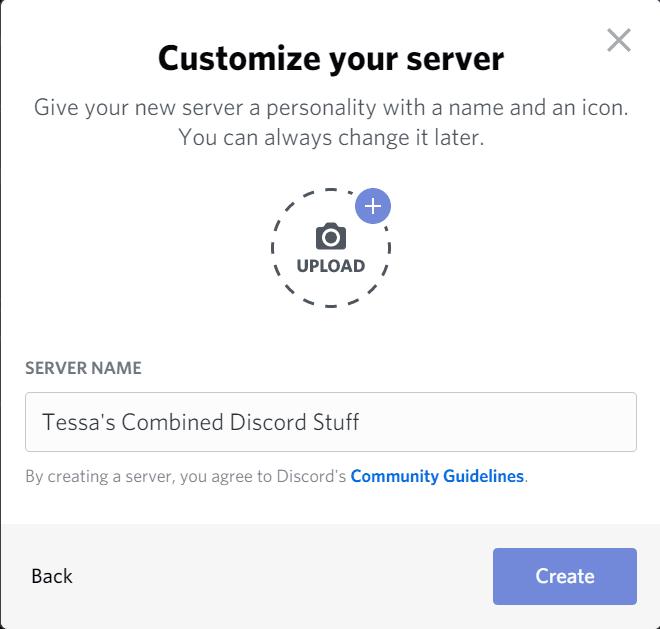 Create Personal Server