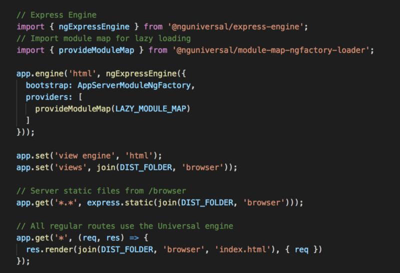 Node.js server code