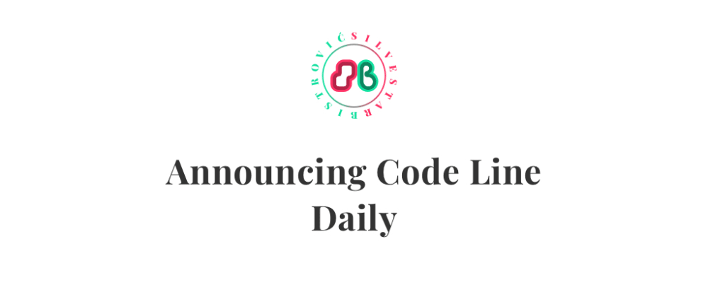 Cover image for Announcing Code Line Daily