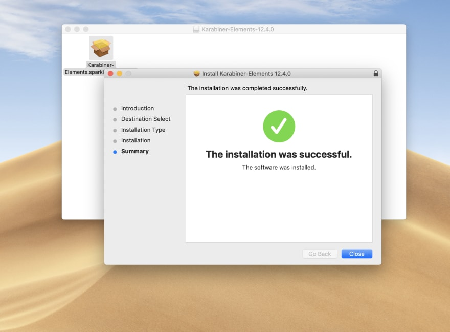 Install Step Two