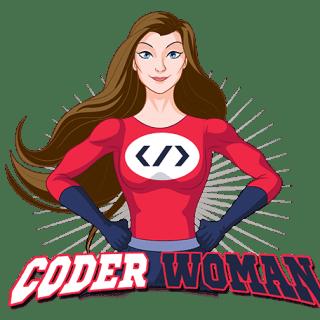 Coder Woman logo