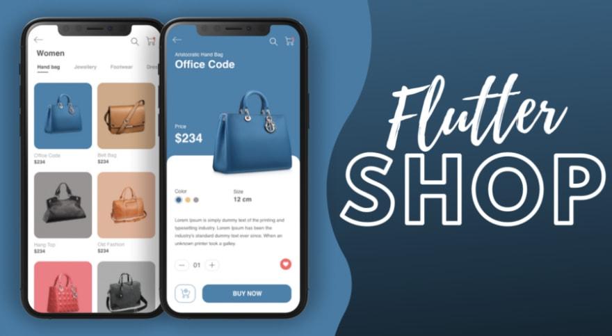 E-commerce App - Flutter UI