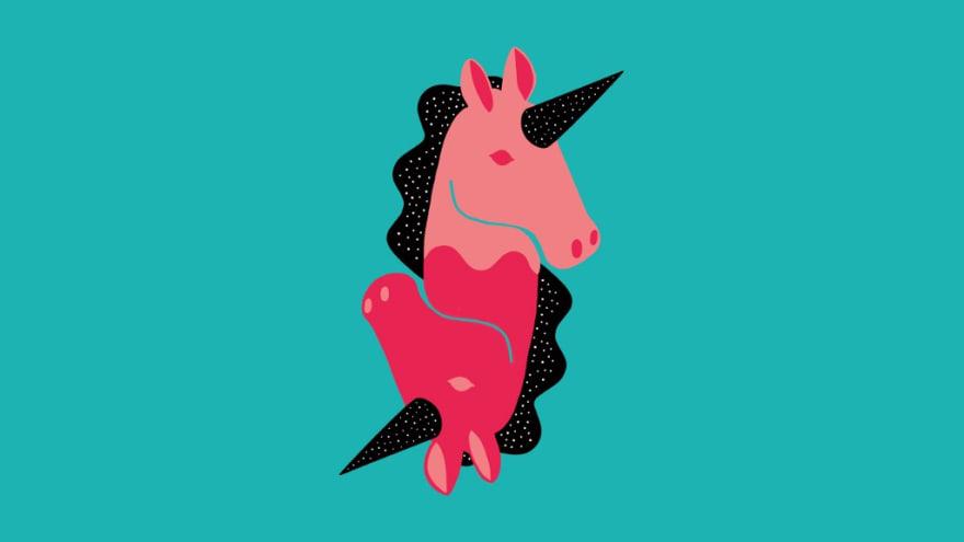 Illustration of a unicorn