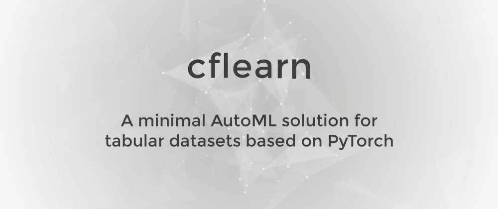 Cover image for cflearn - v0.1.1 update!