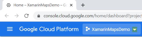 Google Cloud Platform Home Page