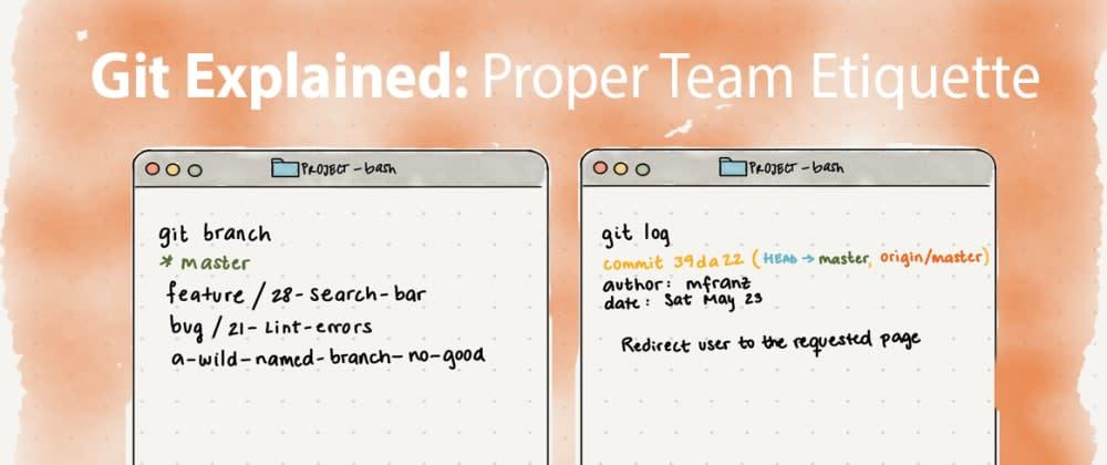 Cover image for Git Explained: Proper Team Etiquette