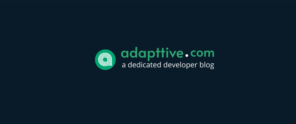 Cover image for adapttive.com - a blog built with Strapi and Gridsome