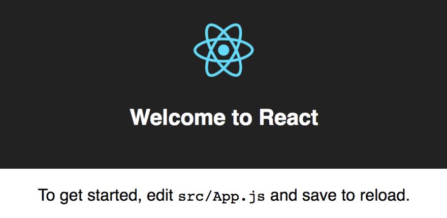 Create React App starter page