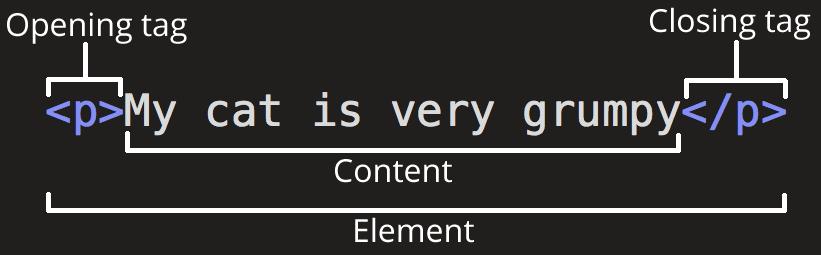 Anatomy of HTML (MDN)