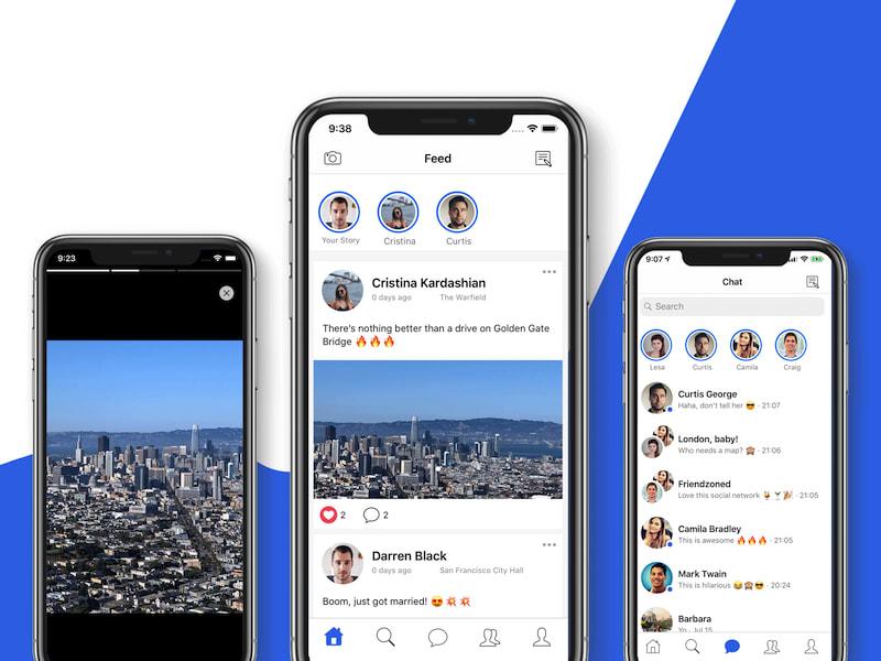 mobile app theme