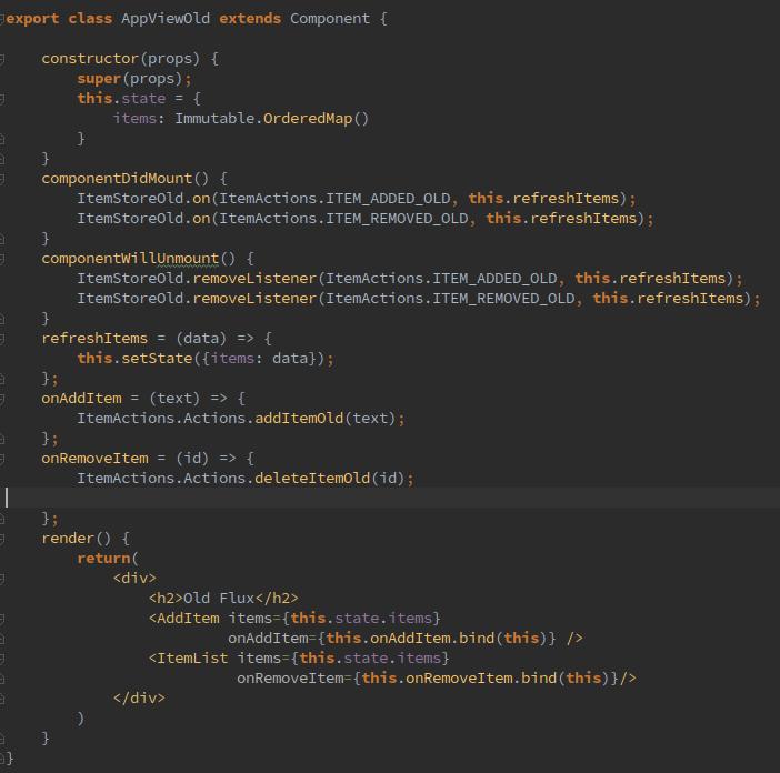 old flux code