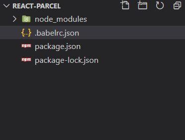 Folder structure after adding Babel config file