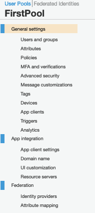 AWS Made Easy AWS Cognito User Pool Attributes