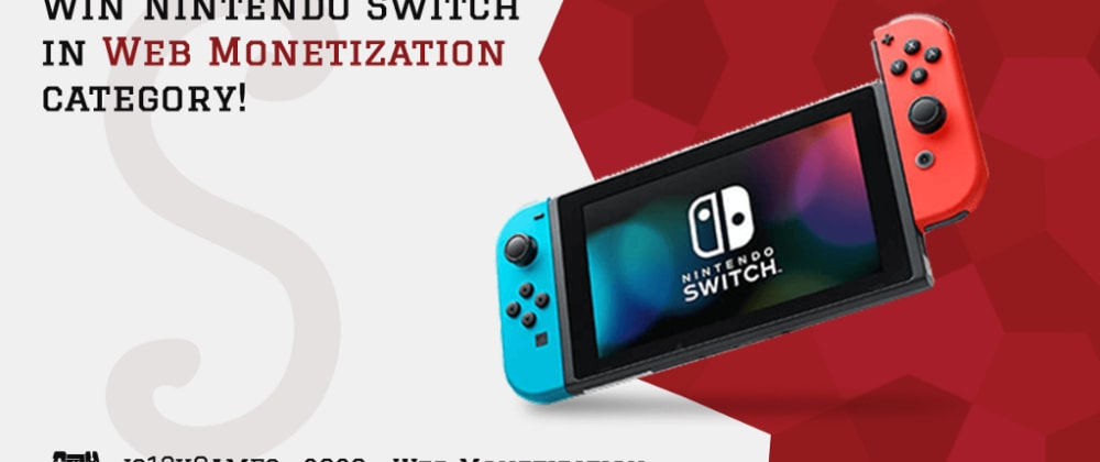 Cover image for Win Nintendo Switch and get Jupi's coverage in Web Monetization category