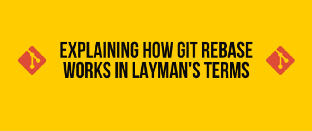 Cover image for Explaining How Git Rebase Works in Layman's Terms 🍕🥑🍖
