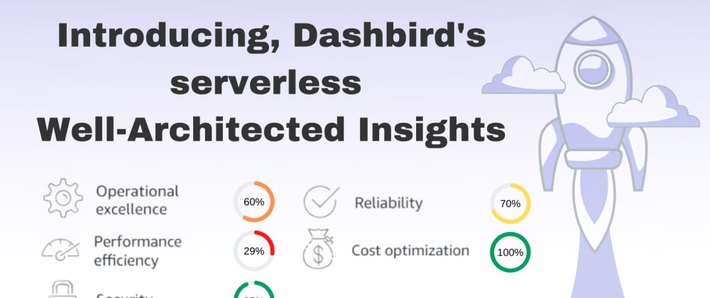Cover image for Introducing: Dashbird's serverless Well-Architected Insights feature