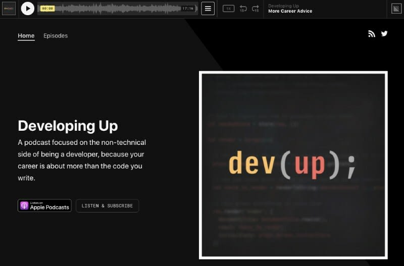 Developing Up Podcast