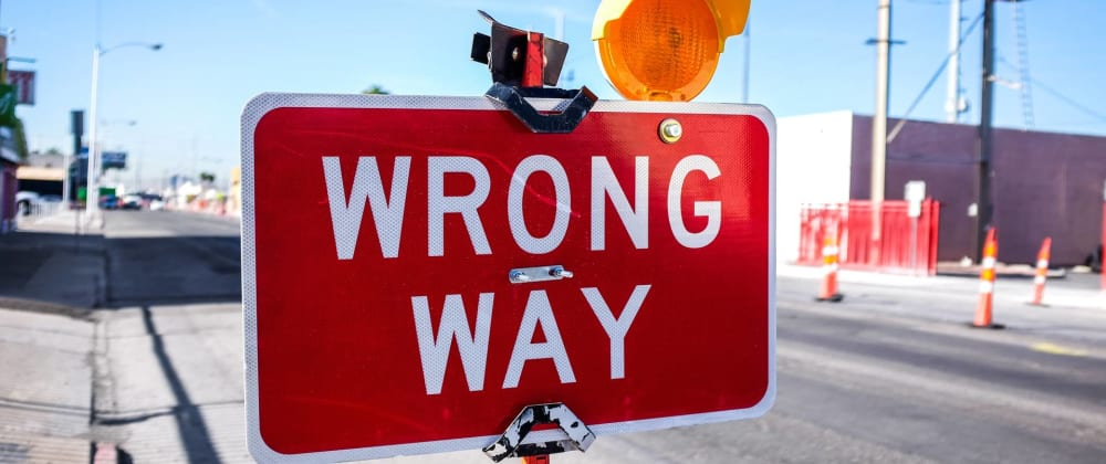 Cover image for How you can go wrong with git