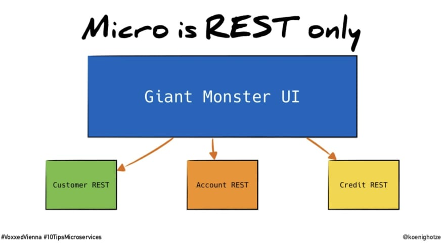 micro is backend only