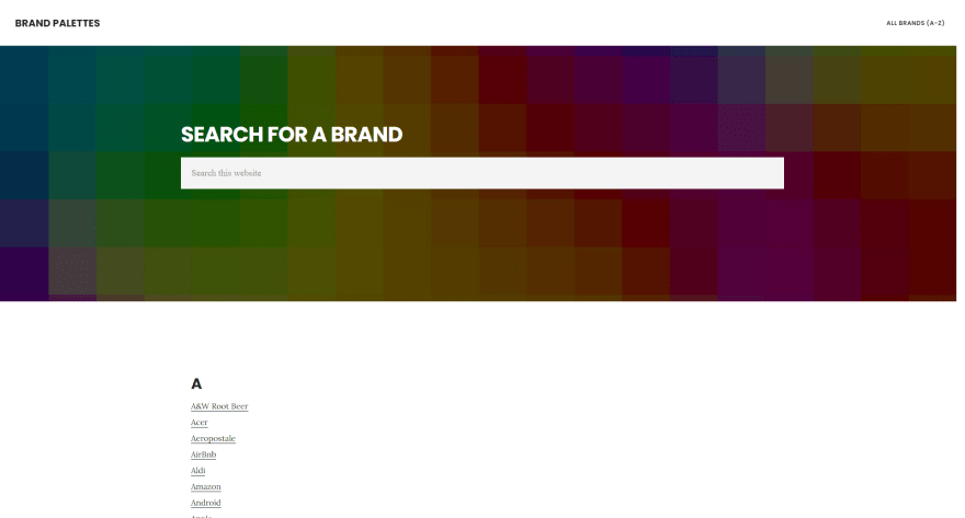 Brand Palettes
