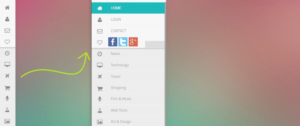 Cover image for Create a Side Menu Bar Using Only HTML and CSS