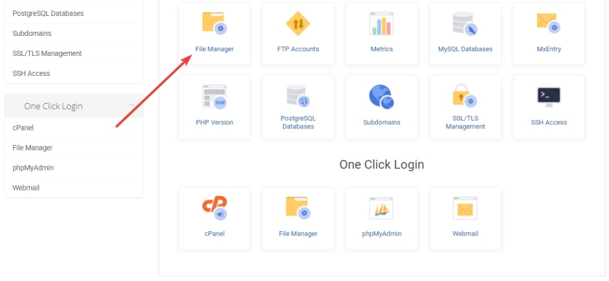 Log into cPanel to disable PHP execution in the uploads folder