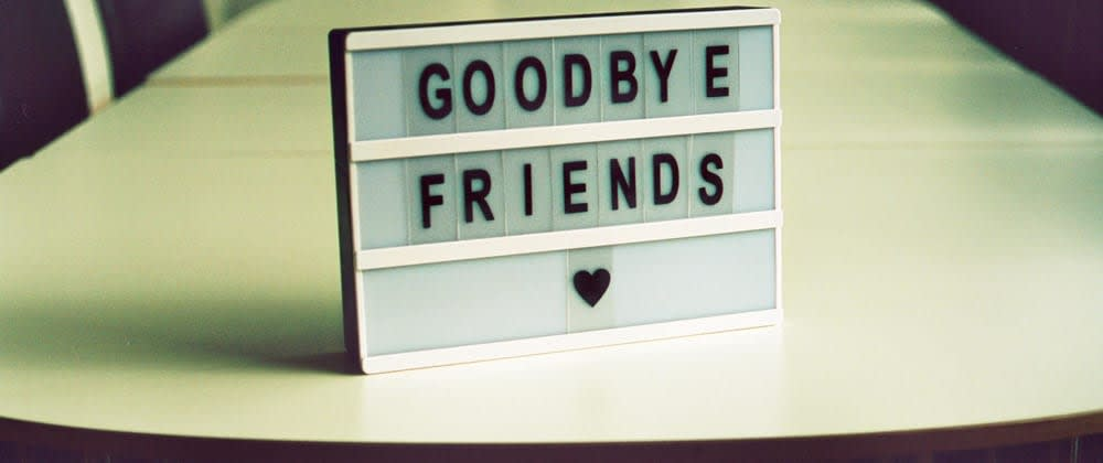 Cover image for Tips for remote goodbyes