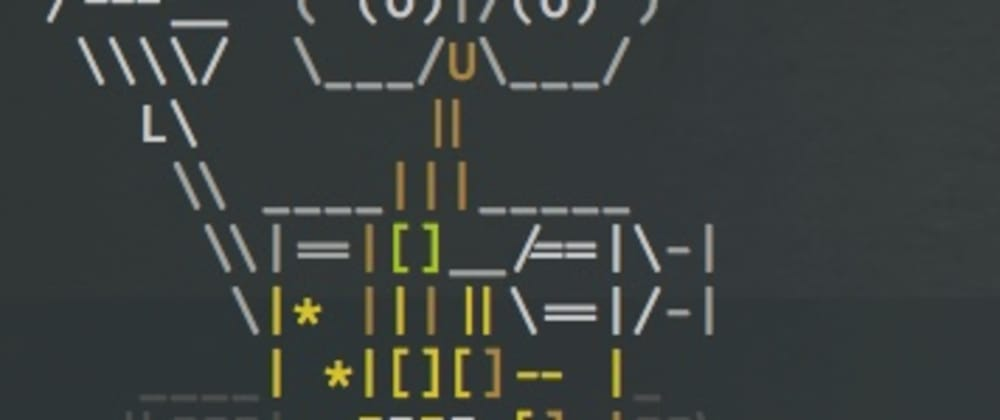 Cover image for Ascii Wall-E for Your Terminal