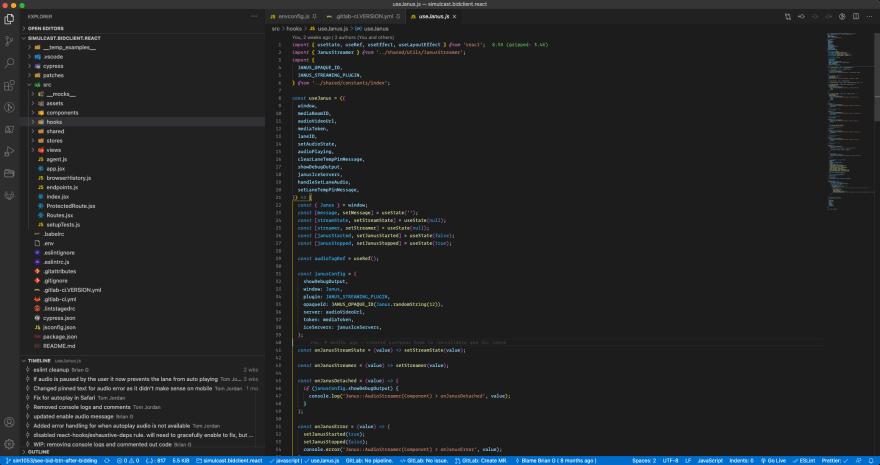 My VSCode theme