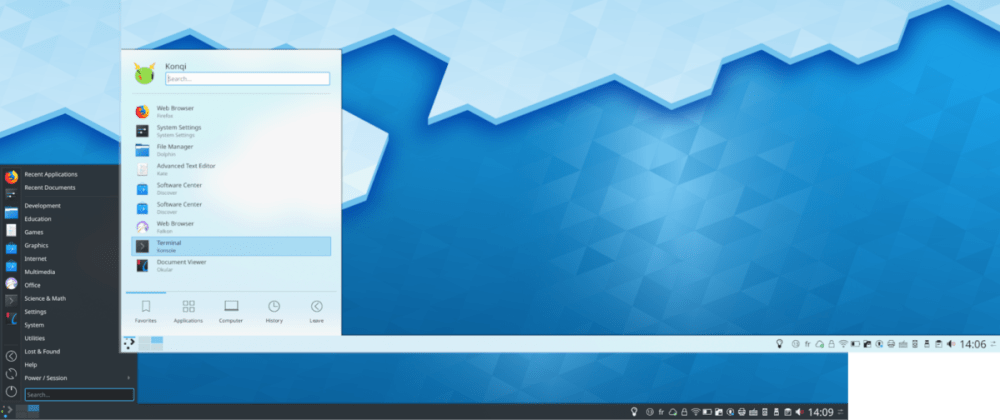 Cover image for Trying out KDE