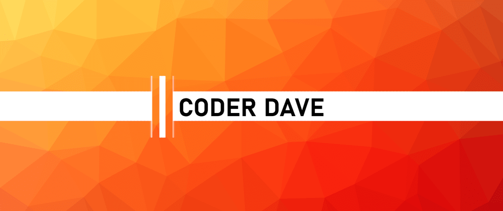 Cover image for My new YouTube channel: CoderDave