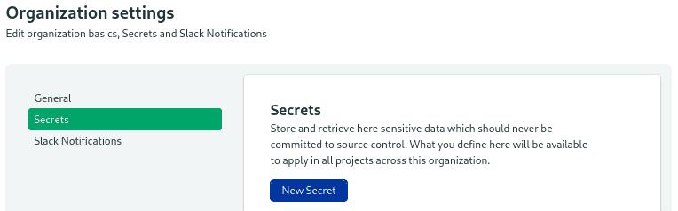 Semaphore Secrets