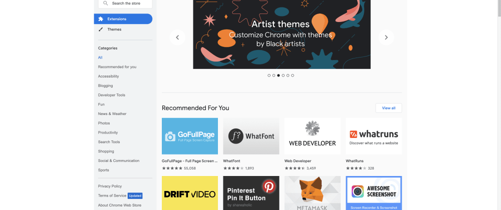 Cover image for 8 Great Developer Extensions ⚙️ for Your Browser 🧑💻